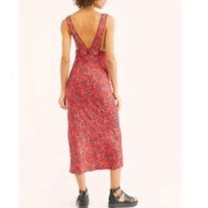 Free People Oh La La Midi Dress